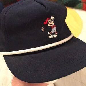Mickey Mouse strap back hat vintage